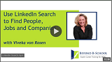 Use LinkedIn Search to Find People, Jobs and Companies