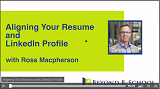 Aligning Your Resume and LinkedIn Profile